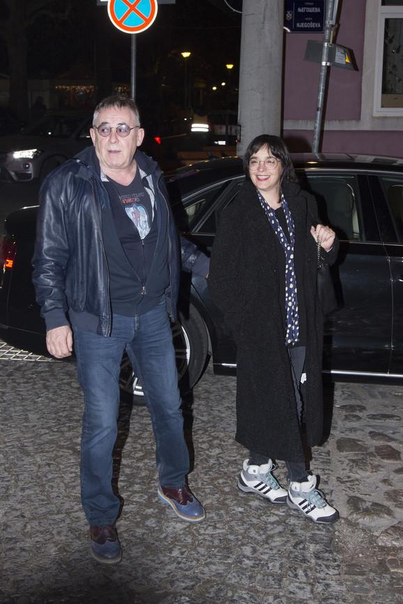 Milutin Mima Karadžić i Katarina Žutić