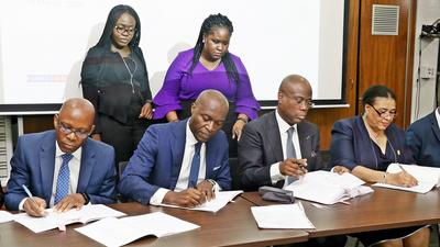 Access Bank Plc officially signs N15 billion green bond issuance