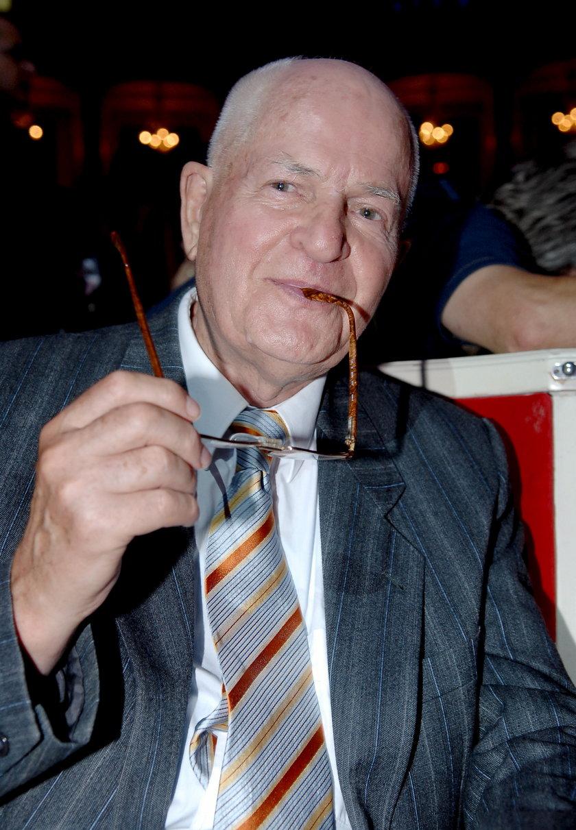 Jan Machulski w sierpniu 2006 roku