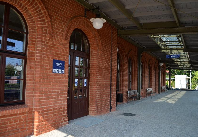 Dworzec PKP w Pszczynie