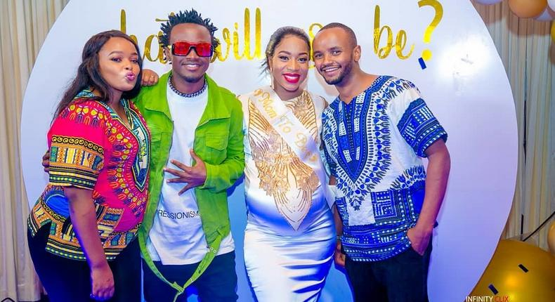 The Wa Jesua Famiy and The Bahati's . I'm done- Shouts Diana Marua after exquisite Baby Shower