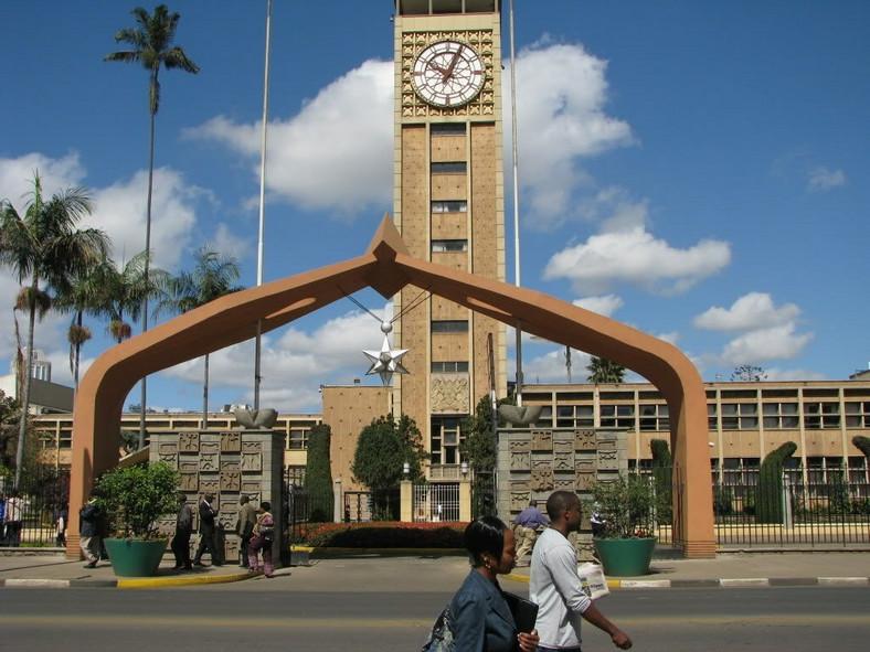 Kenyan Parliament Building