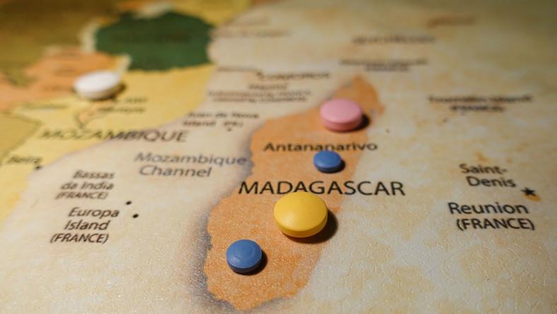 Madagaskar, tabletki