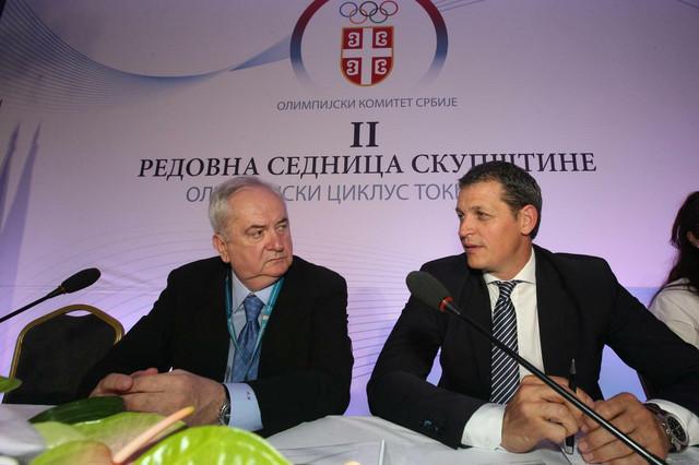 Božidar Maljković i Đorđe Višacki
