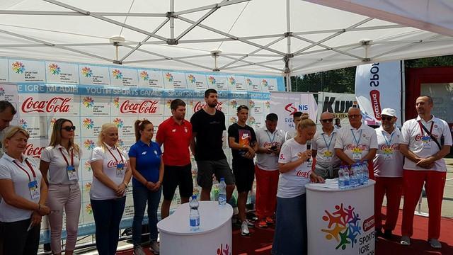 Sportske igre mladih, drugi dan finala na Adi Ciganliji