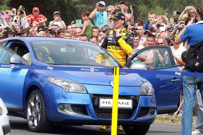 Robert Kubica, f1, formuła 1, Poznań, motor show