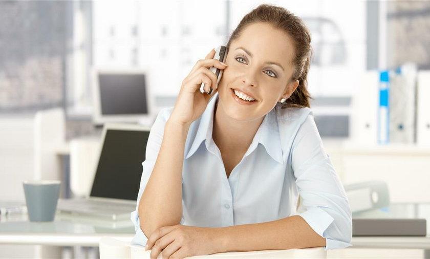 kobieta telefon