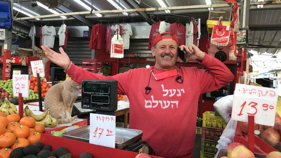 Bazar Carmel, Tel Aviv, Izrael