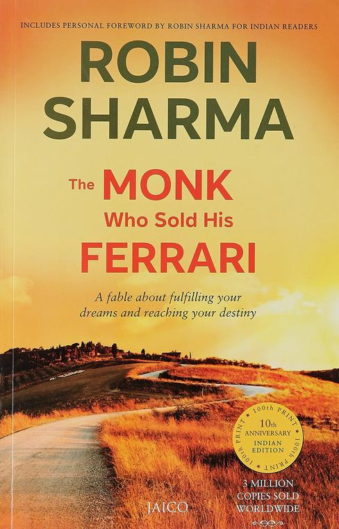 The Monk Who Sold His Ferrari Book Cover