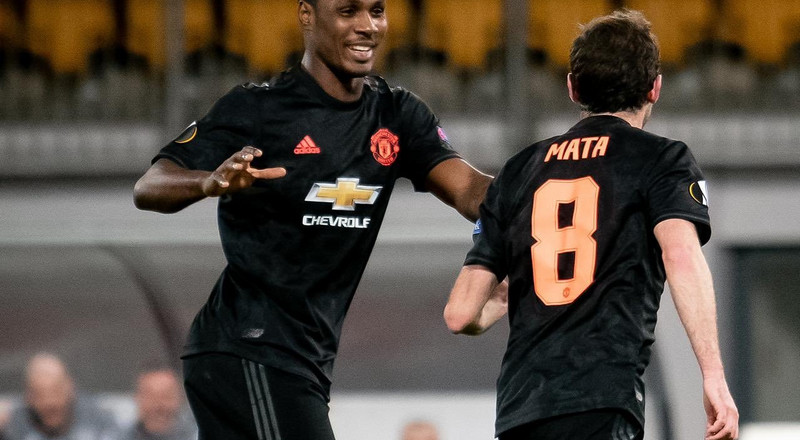 Odion Ighalo gets Man of the Match award again after a goal and an assist as Man United thrash LASK in Europa League clash