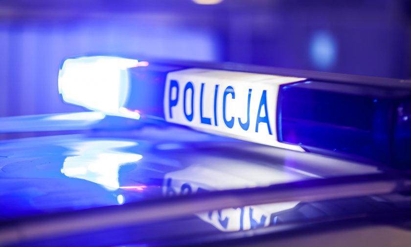 Pijany policjant zatrzymany pod Piszem