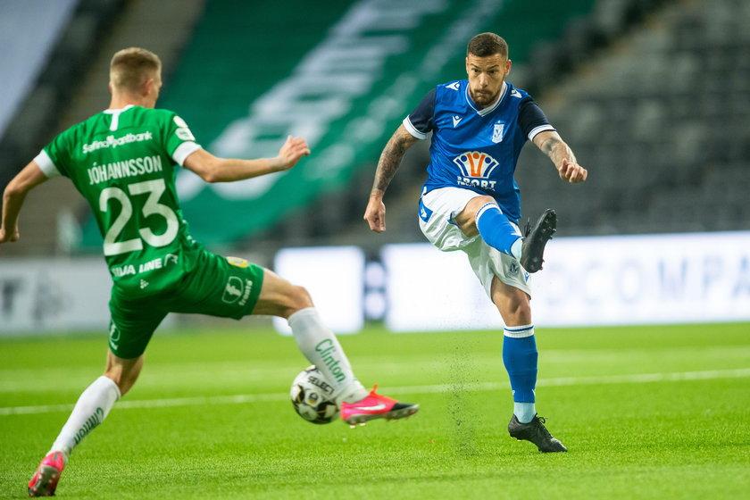 Liga Europy. Hammarby IF –Lech 0:3