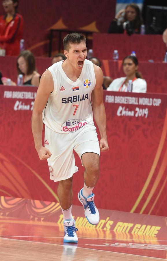 Bogdan Bogdanović u dresu Srbije