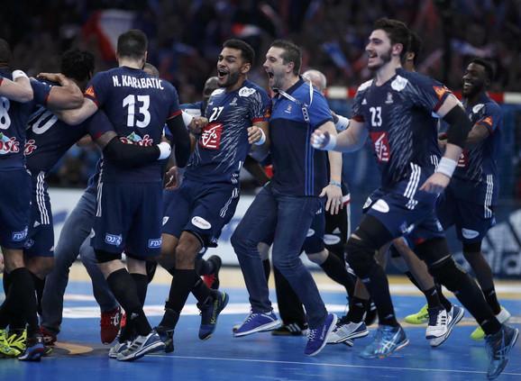 Rukometna reprezentacija Francuske slavi šestu svetsku titulu