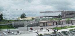 Zielony dach i nadmuchiwana fasada. Nowy budynek Kopernika coraz bliżej!
