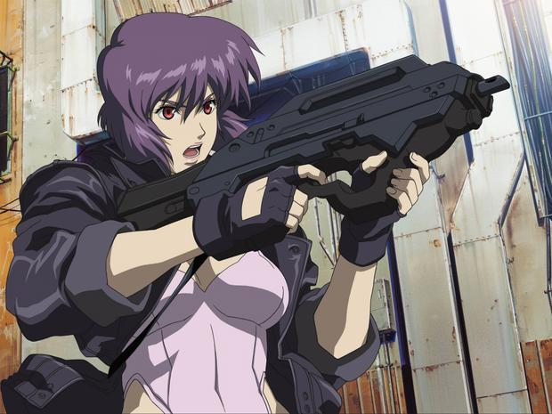 """Ghost in the Shell"": kadr z anime"
