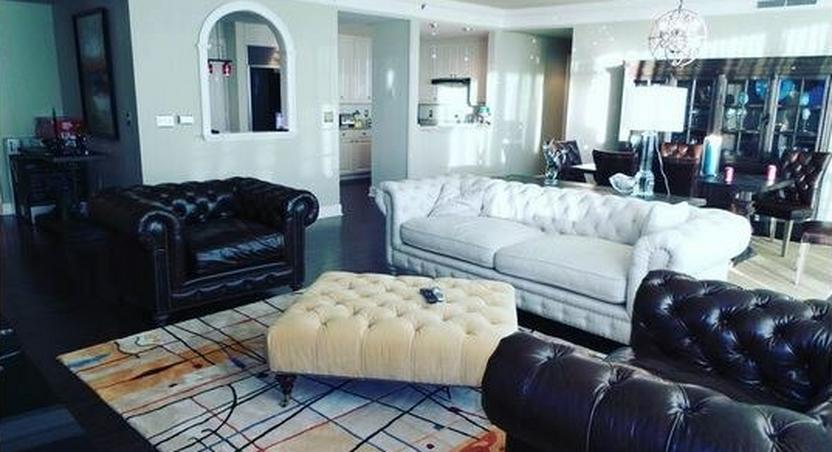 Peter Okoye's Atlanta apartment
