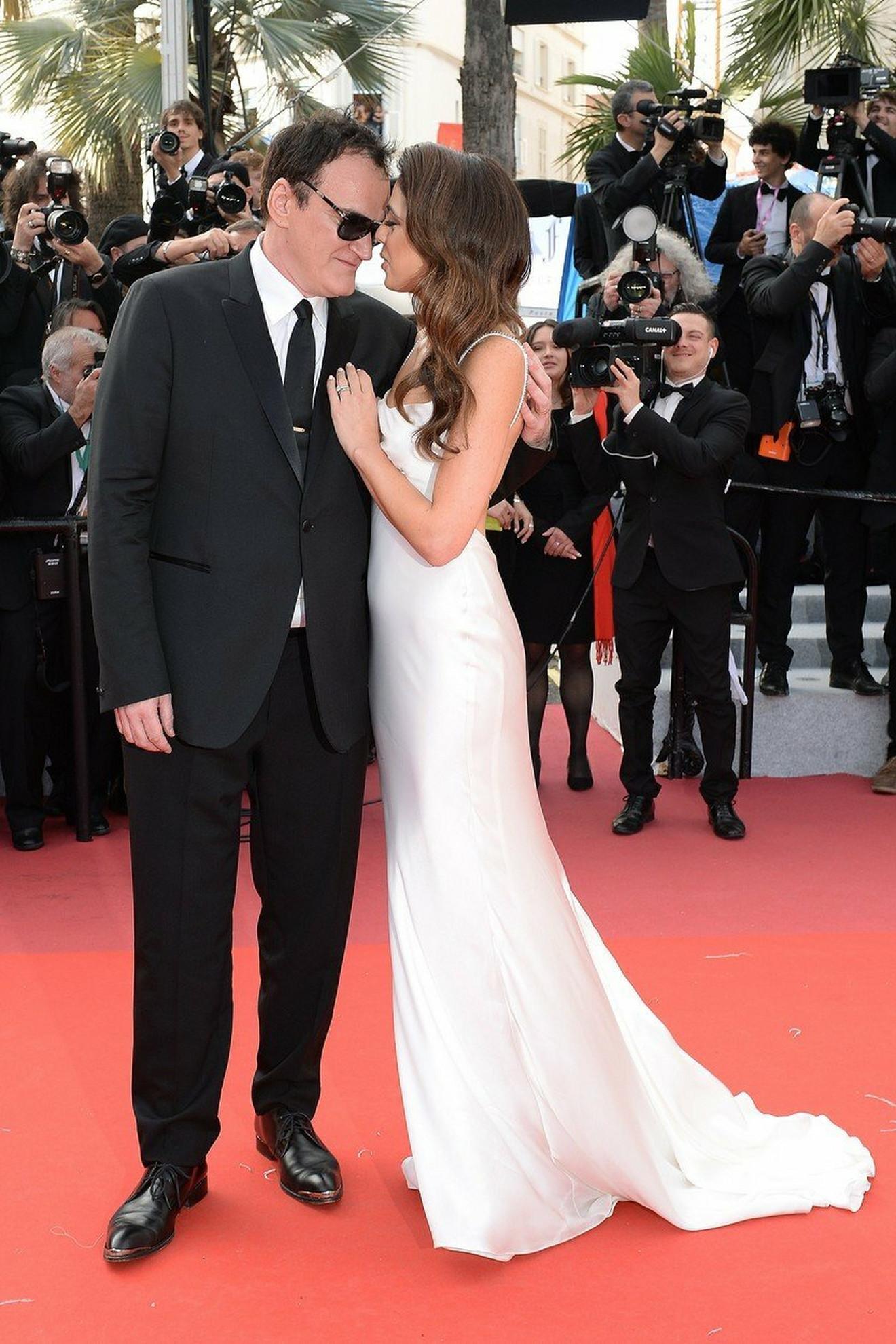 Kventin Tarantino sa suprugom