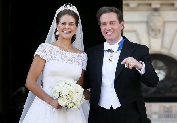 Ślub szwedzkiej księżniczki Madeleine z Amerykaninem Christopherem O'Neillem