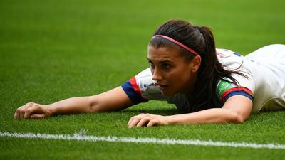 US star Alex Morgan targets WSL glory with Tottenham