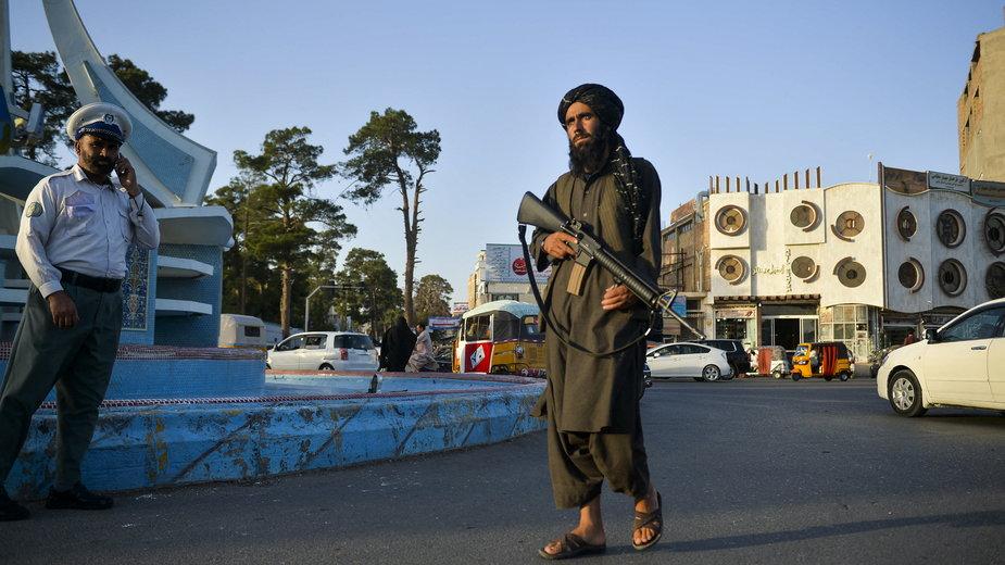 Bojownik Talibanu w Heracie