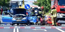 Makabryczny wypadek. 77-latek zderzył się z motocyklistą. Obaj nie żyją