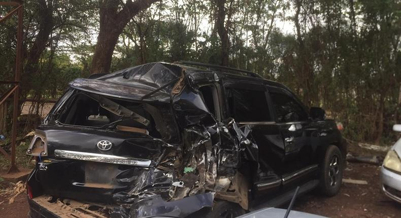 MP involved in early morning road accident