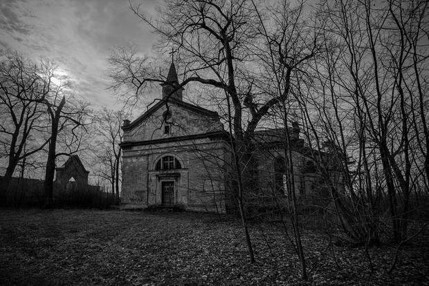 Opuszczony kościół ewangelicki, Stare Prażuchy