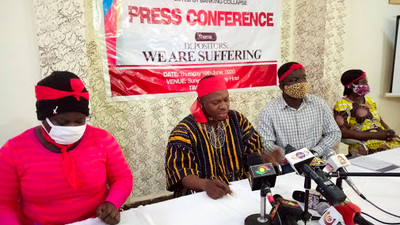 Customers of collapsed banks vow to register and vote against Akufo-Addo