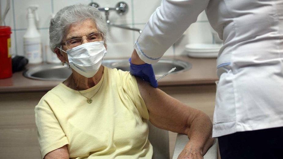 101-latka z Tarnowa zaszczepiona jako jedna z pierwszych