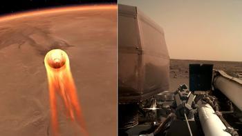 NASA zverejnila prvý jasný záber z Marsu 98f00a8900c