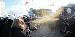 Policja użyła gazu. Kolejne protesty w Polsce