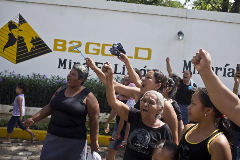 B2Gold protest Nikaragua