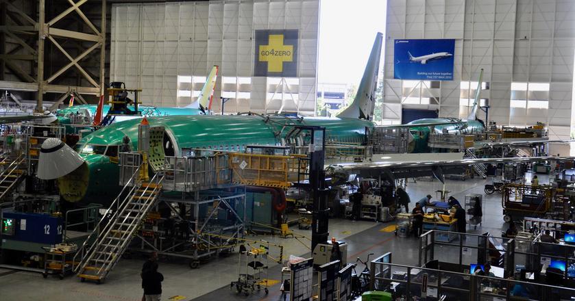 Byliśmy w fabryce samolotów. Tak powstają Boeingi 737NG [ZOBACZ ZDJĘCIA]