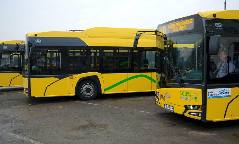 Katowice. Pierwsze elektryczneautobusy dotarły do PKM