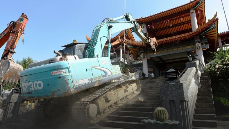 Świątynia w Ershui na Tajwanie