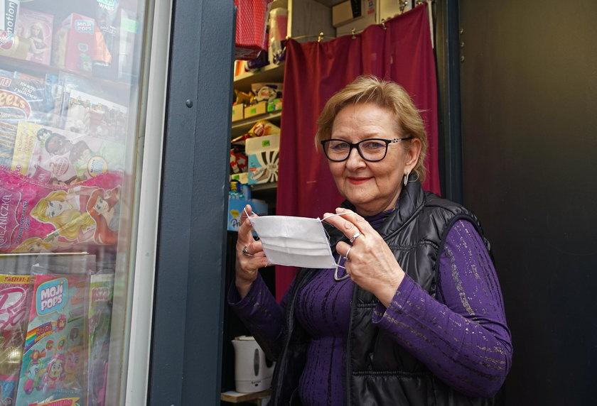 Alina Ostapczuk (62 l.) z Białegostoku: