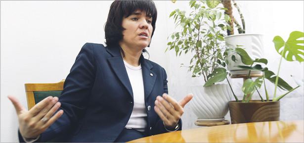 Zdaniem Joanny Agackiej-Indeckiej, prezes Naczelnej Rady Adwokackiej, należy przyjąć rozwiązania prawne, które otworzą dostęp do zawodu sędziego prokuratorom, adwokatom, radcom prawnym i notariuszom Fot. Wojciech Górski