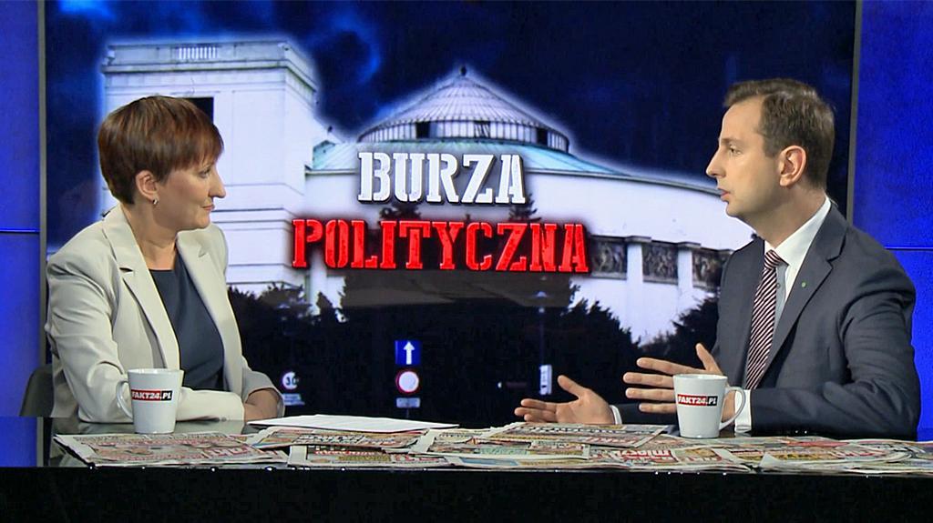 Burza polityczna. Władysław Kosiniak-Kamysz