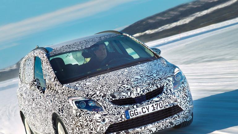 Opel Zafira III: salon na kołach