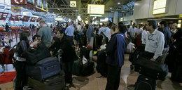 Chaos na lotnisku! Pasażerowie nie wiedzą, co się dzieje