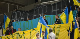 Ukraina nie myśli o futbolu