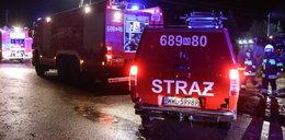 Pożar w szpitalu w Bielsku-Białej. Łóżko pacjentki stanęło w płomieniach