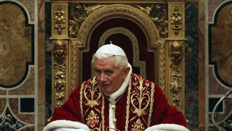 Benedykt XVI, fot. AFP