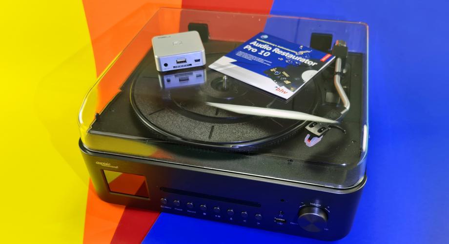 Audio Schallplatten Rekorder von Avisio