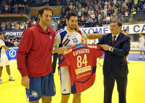 Mladen Bojinović i Nikola Karabatić