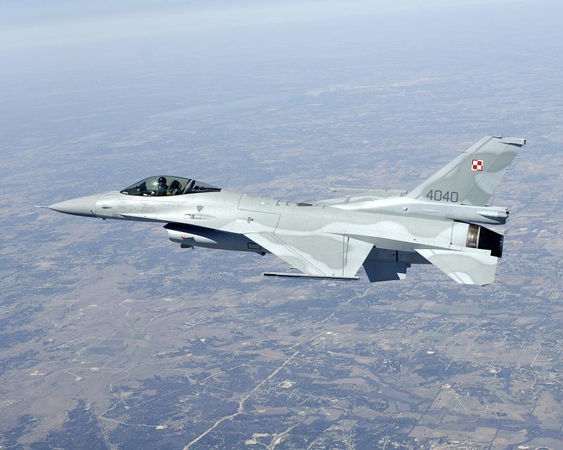 Poland F-16 First Flight 3