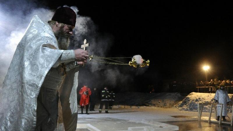 Prawosławni świętują Chrzest Pański w nocy z 18 na 19 stycznia