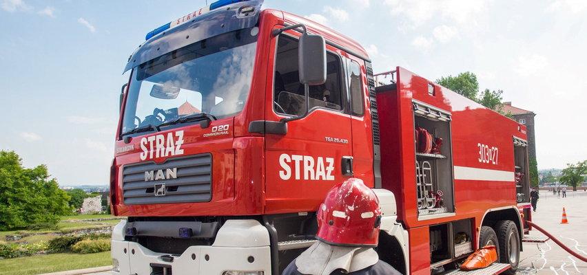 Tragiczny pożar w Szczawnicy. Dwie osoby nie żyją