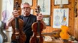Pan Stanisław wie wszystko o skrzypcach. Oto krakowski lutnik z 40-letnim stażem